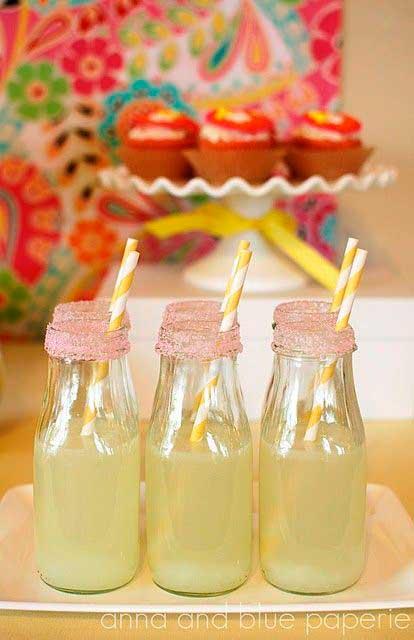 decorar com garrafas de vidro