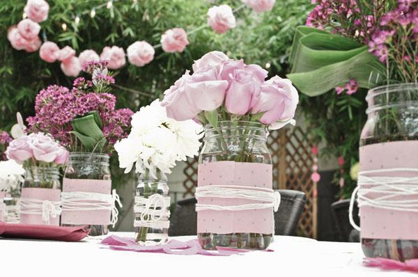 vidro na decoração