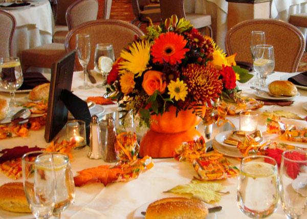 decoração de casamento no outono