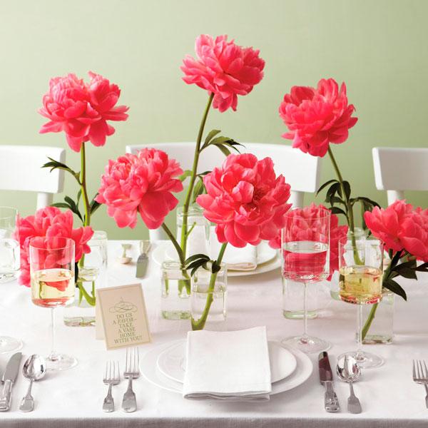flores no casamento de primavera