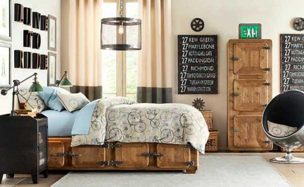 móveis antigos na decoração