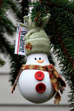 Lâmpada natalina personalizada