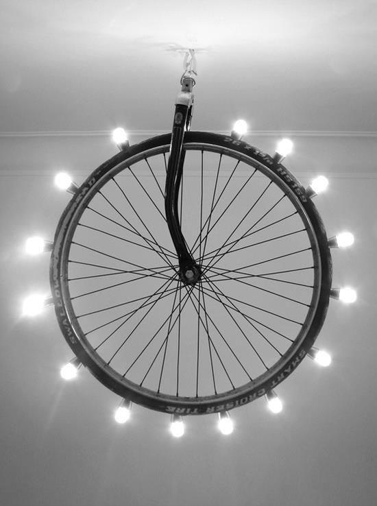 decoração de bicicleta