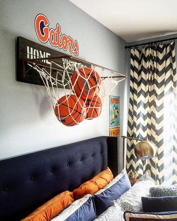 basquete na decoração