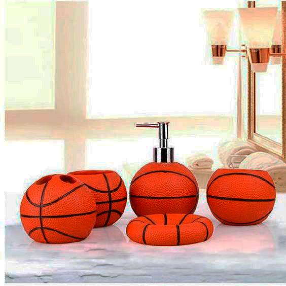 decoração de basquete