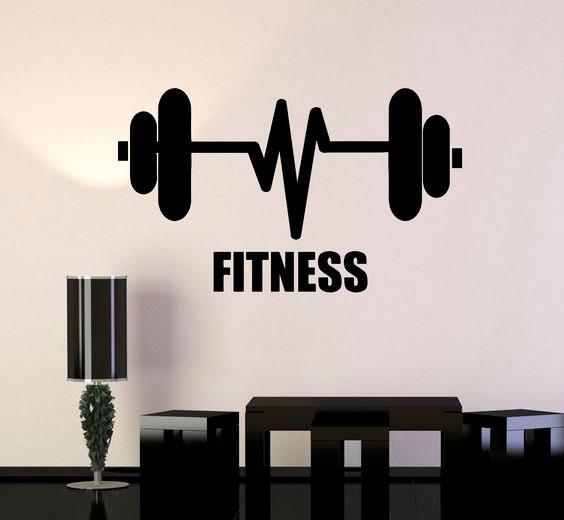 decoração fitness