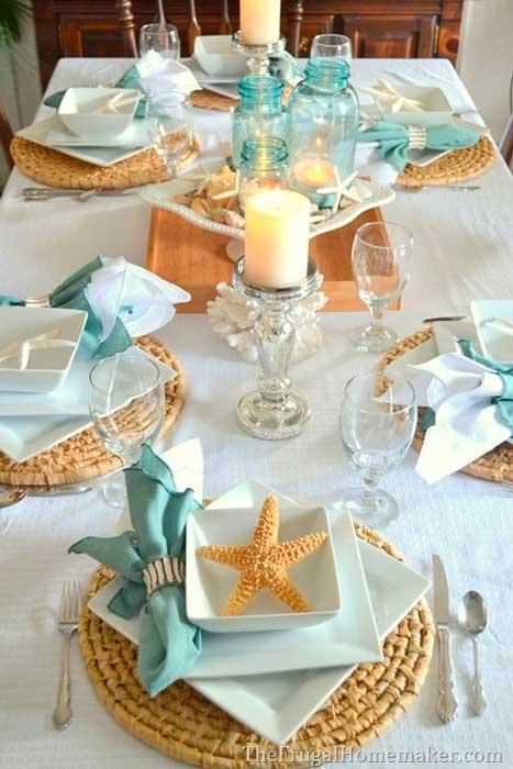 mesa na praia