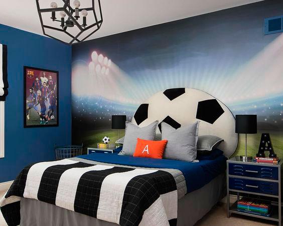 quarto de futebol