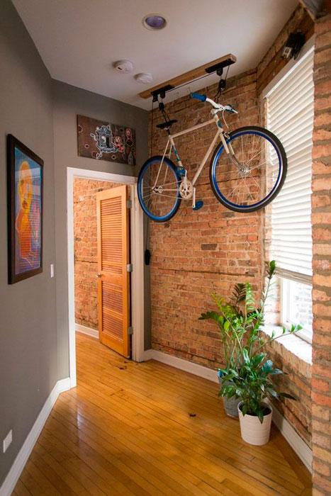onde guardar a bicicleta