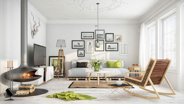 estilo escandinavo na decoração