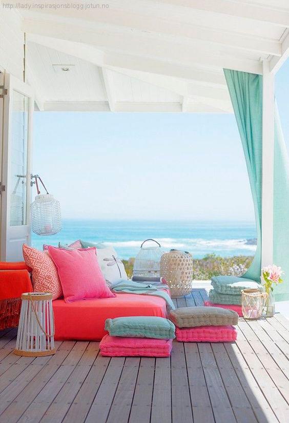 decoração de casa no litoral