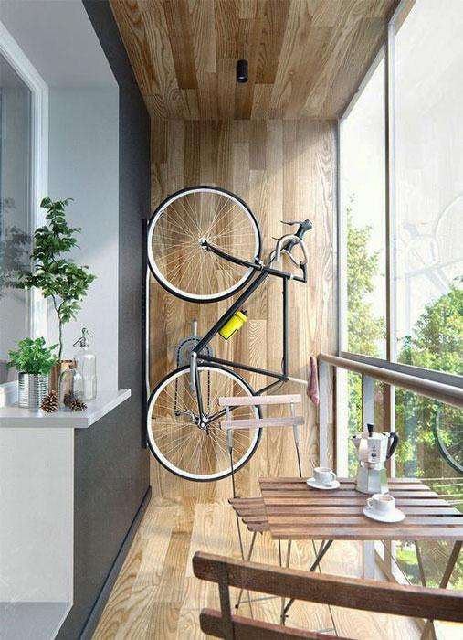bike na decoração