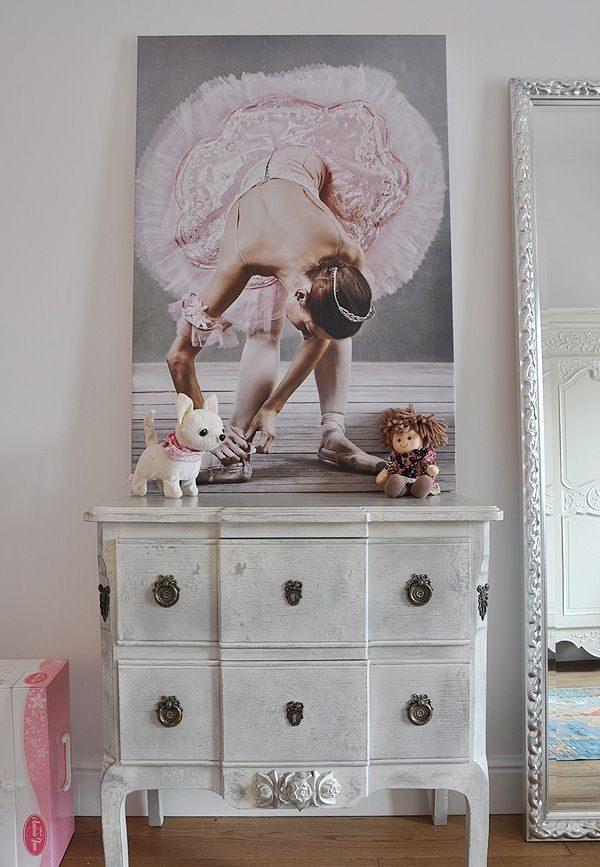 Balé na decoração do quarto