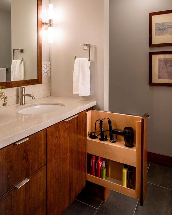 banheiro organizado