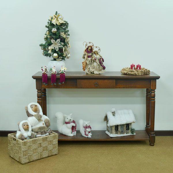 aparador de madeira na decoração