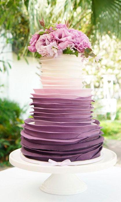 bolo de casamento ultravioleta