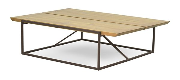 mesa de centro industrial