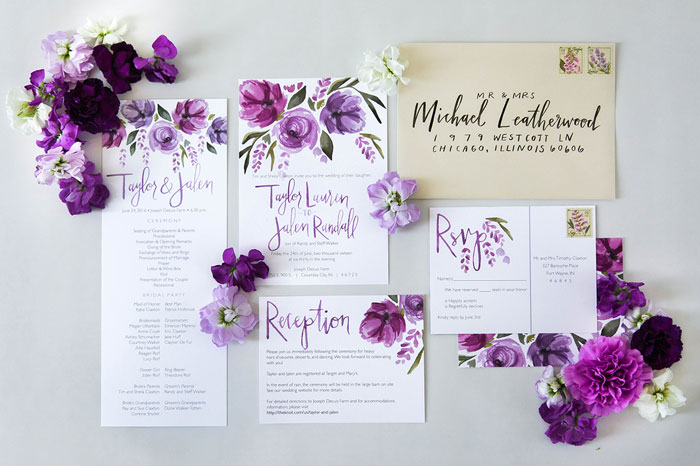 cor ultravioleta no casamento