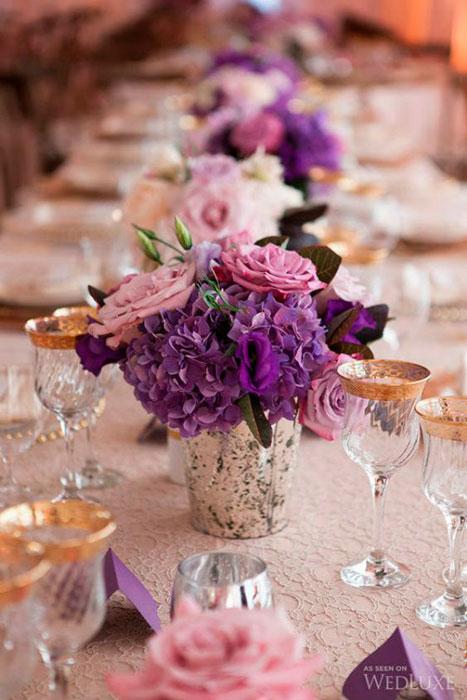 casamento com ultravioleta na decoração