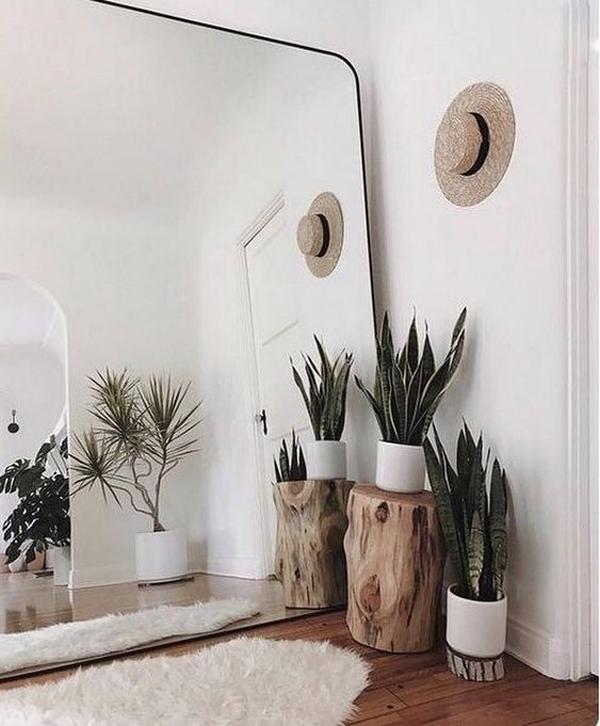 espelho na decoração