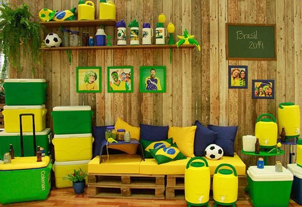 Decoração para a Copa do Mundo