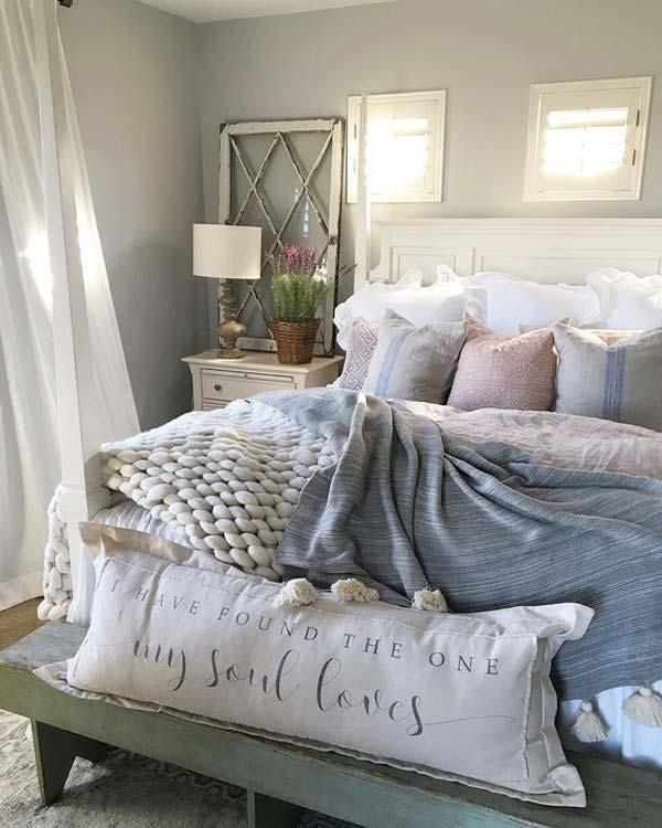 roupas de cama no inverno