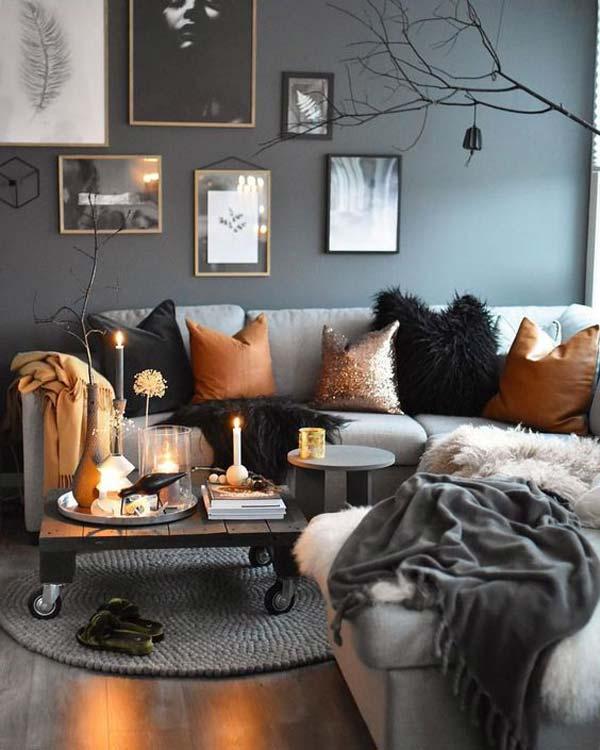 decoração outono inverno