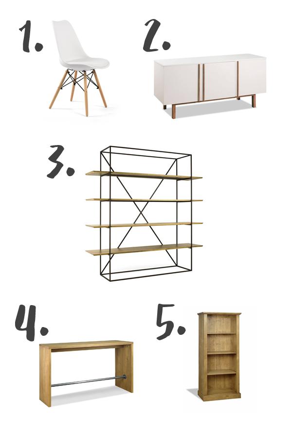 móveis para atelier