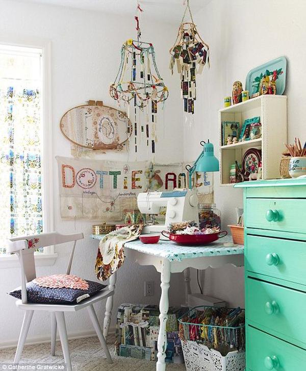 atelier decorado