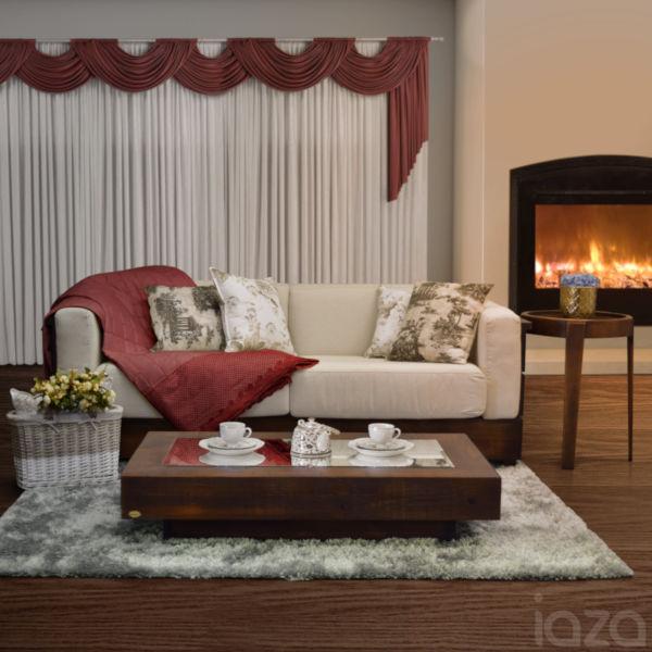 sofá Âmbar de madeira inverno