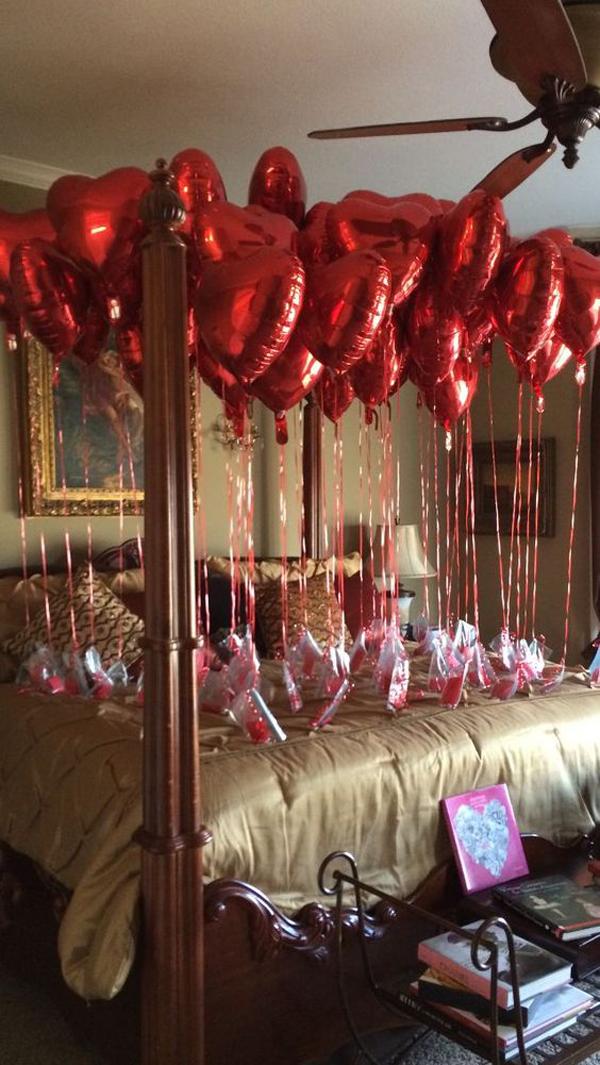 decoração para dia dos namorados