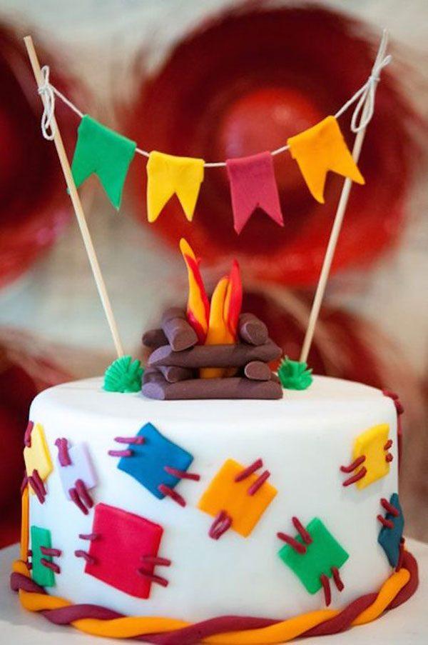 bolo de festa junina