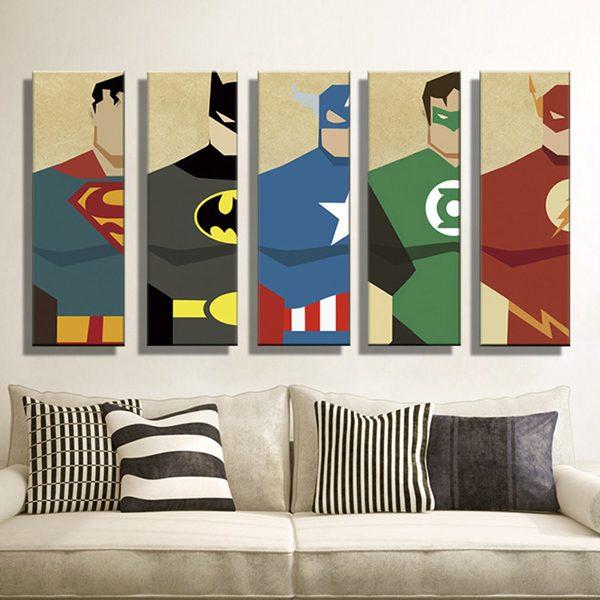 sala de estar nerd