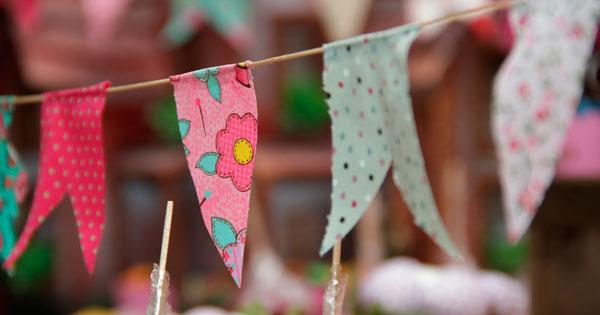 bandeirinhas de festa junina