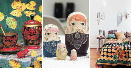 decoração russa