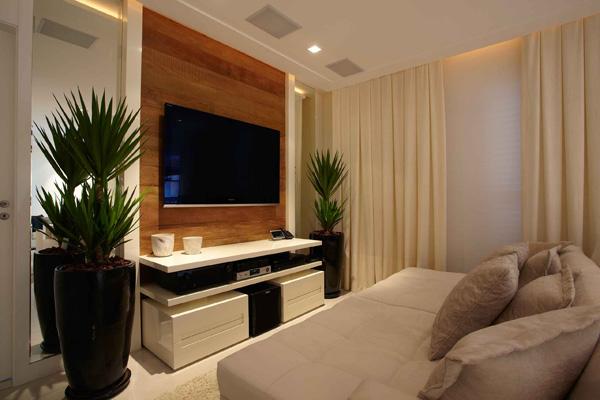 salas clean com plantas