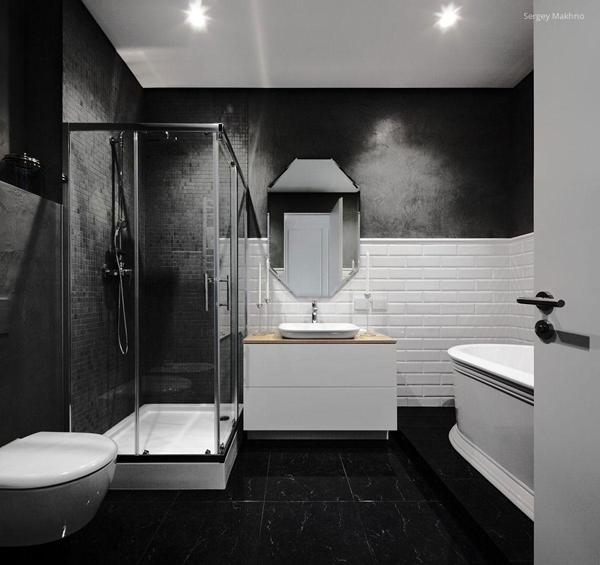 banheiro design preto