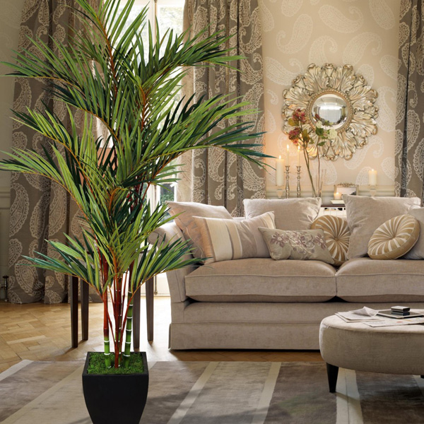 palmeira na decoração