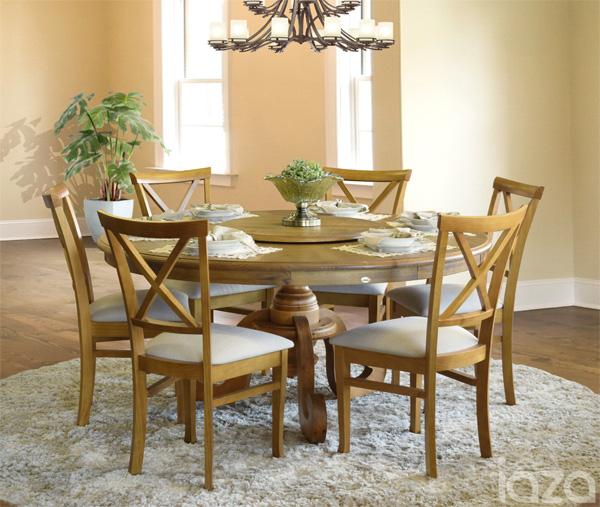 sala de jantar com planta