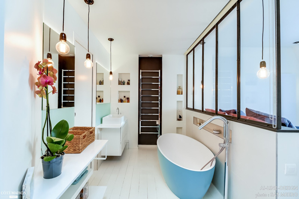 design branco sala de banho