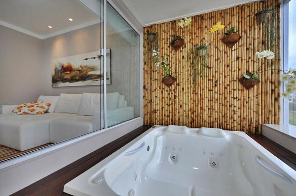 decoracao sala de banho