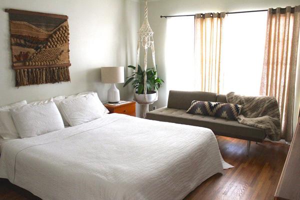 planta pendurada no quarto