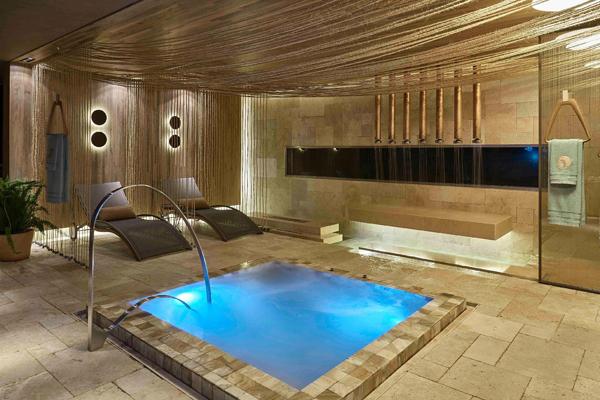sala de banho rústica
