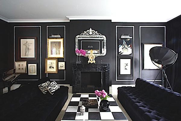 black decoration