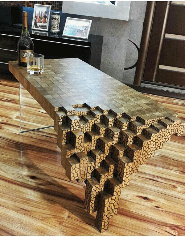 mobília artística
