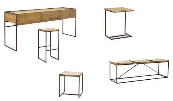 móveis de madeira e ferro - Emerson Borges
