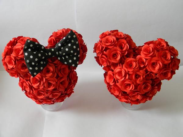 flores casamento disney