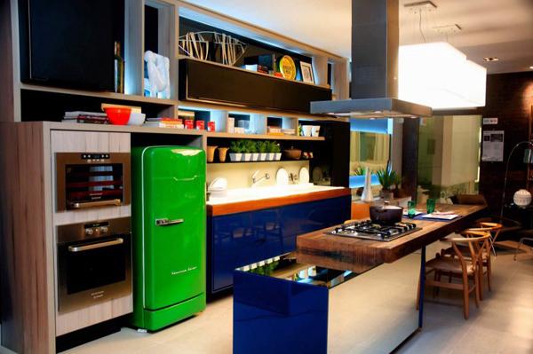 móveis e cor na decoração