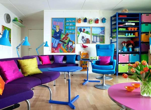 dicas de como usar cor na decoração