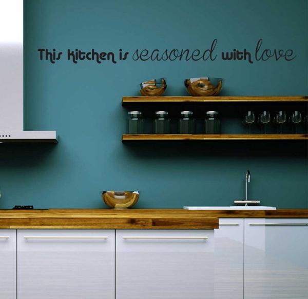 decoração com frases cozinha